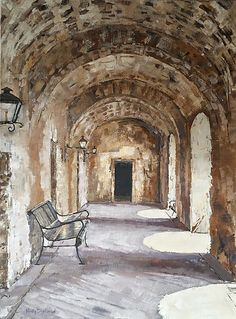 Hillhouse Studio Design by Holly Dyrland Original Art Original Artwork, Original Paintings, Studio Design, Landscapes, The Originals, Architecture, Canvas, Drawings, Places