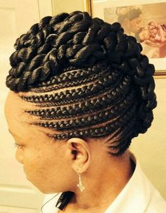 40 Goddess Braids Hairstyles You Must try! - Part 33 40 Goddess Braids Hairstyles You Must try! – Part 33 – ghana Brai… 40 Goddess Braids Hairstyles You Must try! – Part 33 – ghana Braided – - Twist Hairstyles, African Hairstyles, Black Hairstyles, Goddess Hairstyles, Protective Hairstyles, Hairstyles Pictures, Protective Styles, Cornrow Updo Hairstyles, Hairstyles 2016