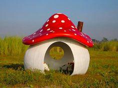 Magical Mushroom Playhouse