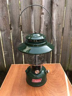 Vintage Coleman Lantern, Coleman Lantern, Coleman Lantern Model 228H, Vintage Camping, Camping Gear, Gas Lantern, Survivalist Gear by Vintagetinshed on Etsy