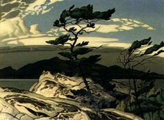 """""""White Pine"""" by AJ Casson. The Group of Seven could capture the wildness of Canadian nature."""