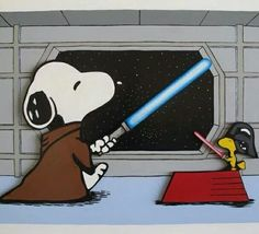 May the force be with you ❤️Snoopy❤️