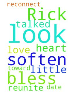 Dear Lord, please look after and bless Rick. Soften - Dear Lord, please look after and bless Rick. Soften his heart toward me and please reunite us in love. we talked a little, Lord, please help us to reconnect and date again. In your name I pray, Amen Posted at: https://prayerrequest.com/t/rS2 #pray #prayer #request #prayerrequest
