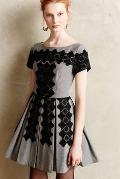 Tracy Reese Melaena Embroidered Dress