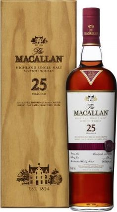 Macallan 25 Cigars And Whiskey, Whiskey Drinks, Scotch Whiskey, Irish Whiskey, Whiskey Bottle, Bourbon Whiskey, Liquor Mart, Macallan Whisky, Champagne Drinks