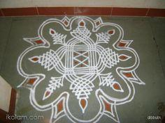 Rangoli Padi Kolam Regular | www.iKolam.com