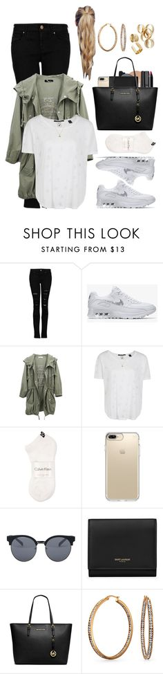 """Untitled #422"" by eduardafrancisca69 ❤ liked on Polyvore featuring MANGO, Maison Scotch, Calvin Klein, Speck, Quay, Yves Saint Laurent, MICHAEL Michael Kors and Bling Jewelry"