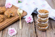 oppskriftO_9 Mini Cupcakes, Cereal, Brunch, Cheese, Snacks, Breakfast, Desserts, Food, Morning Coffee