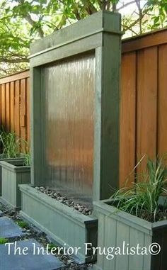 18 DIY Yard Ideas Backyard projects you can do this weekend! If youre looking for some ways to add a little fun, comfort and functionality to your backyard, check out these inspiring DIY yard ideas. Diy Patio, Backyard Patio, Backyard Landscaping, Backyard Waterfalls, Patio Ideas, Garden Ideas, Backyard Furniture, Backyard Planters, Diy Planters Outdoor