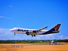 Welcome Atlas Air (B747 freighter)