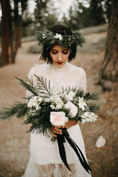 Wintry Big Bear Lake Elopement Inspiration