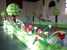 baloons decoration alice`s on fhe wonderful land - Google Search