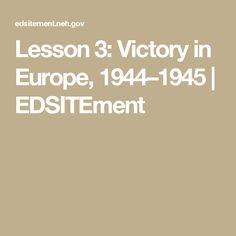 Lesson Victory in Europe, D Day Invasion, Victorious, Classroom, Europe, How To Plan, Class Room