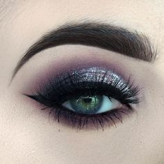 Beauty by Paisley used anastasia beverly hills plum smoke, not today and macaroon. makeup geek cosmetics wisteria and corrupt.