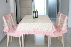 Free Shipping Pink cotton fabric dining chair set cushion tablecloth table cloth chair cover cushion-inChair Cover from Home & Garden on Aliexpress.com | Alibaba Group