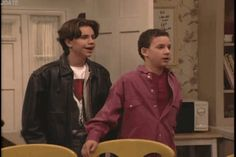 "When he and Cory were shocked at the same sight, and his hair flopped ever so slightly. | Community Post: 37 Times Shawn Hunter From ""Boy Meets World"" Was A Total Dreamboat"