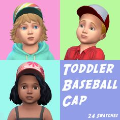 Sims 4 CC's - The Best: Toddlers Baseball Cup by budgie2budgie