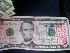 Matthew Lieber on Twitter: Money talks. http://stampstampede.org  smart tactics. Movement? Gimmick? Precedents? #GetMoneyOut @NicholsUprising  --- Found in Madison, WI!