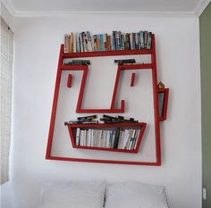 Creative Display Shelf