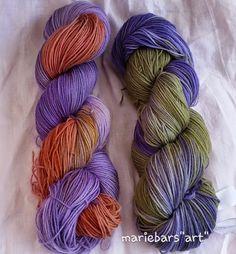 noch ein bisschen mehr aus ,Wolle, Stoff und Faden:: Wolle färben