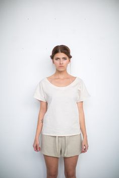 7bfd761a 13 Best Tie Front Tops images | Front tie top, Tie front shirt ...