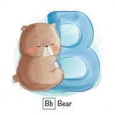 Alfabeto animal - letra p Alfabeto Animal, Alphabet Cards, Alphabet For Kids, Cute Drawings, Animal Drawings, Bebe Vector, Cute Bunny Cartoon, Cute Baby Bunnies, Baby Boy Nursery Themes