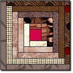 """СП """"Влюбленные в лоскутки"""": 2 блок - вариация на тему классического """"Log Cabin..."""