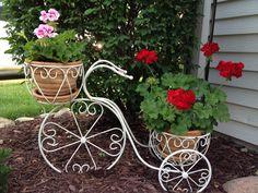 Combine biking and gardening!