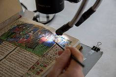 The Gazette visited the Weissman Preservation Center to see how conservators preserve Harvard's rare and unique collections.