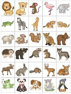 Printable Spring Quiet Book - Activity Book for Pre-K and K Alphabet Activities, Preschool Activities, Activities For Kids, Animals Name In English, Animal Pictures For Kids, Zoo Art, Coding For Kids, Free To Use Images, Pet Rocks