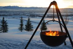 The Cowboy Cauldron.....Love it, but not gonna pay what they want for it.  We'll figureout how to make a knock off, then I'll pin it! :)