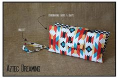 Aztec Dreaming Nappy Clutch A$28.00 plus postage   (Nappy Clutch / Diaper Clutch / Nappy Wallet / Diaper Wallet)