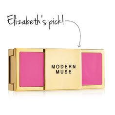 Luxe compact: Modern Muse Solid Perfume Compact, $55, Estée Lauder.  100 percent of the suggested retail price ($55) is donated to the Breast Cancer Research Foundation (BCRF). (10 of the best pink products – Chatelaine) #breastcancer #pinkproducts