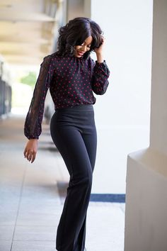 Spring Office Outfits. Business Attire For Women Who Run The World | Fashion Tag Blog #WomenProfessionals