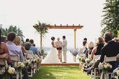 Beautiful ceremony  // photo by Saleina Marie Photography