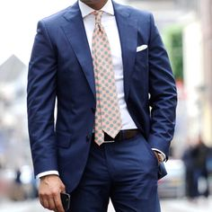 NO LABEL:      The must have for every man, a lightweight blue suit!  New SprezzaturaNO LABEL