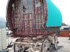 gypsy wagon roma vardo classic retro caravan £9,500 ebay