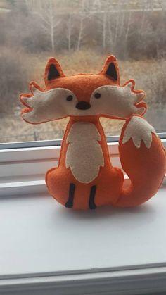 Foxy the fox Fox plushie Fox stuffed animal.