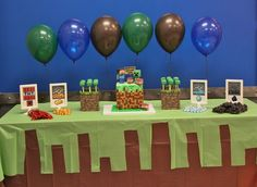 Minecraft: The Sweets Table