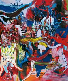 Thunderstruck (Daniel Richter (German, b. 1962), Wet Kiss II,...)
