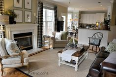 Savvy Southern Style : My Favorite Room.The Endearing Home Country Furniture, Country Kitchen Flooring, Country Home Decor, French Country Living Room, Cozy Living Rooms, Living Room Remodel, Country Style Homes, Home Decor, Country Living Room