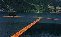 Christo's 'Floating Piers' Installation in Italy: Pictures