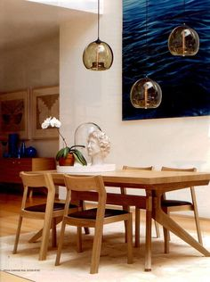 mid century danish modern teak dining table teak dining table danish modern and teak - 3 Pendant Lights Over Dining Table
