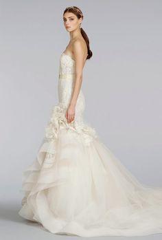 Lazaro Wedding Dresses Spring 2014 Collection. To see more: http://www.modwedding.com/2014/04/21/lazaro-wedding-dresses-spring-2014/#!prettyPhoto #wedding #weddings #wedding_dress