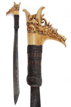 Blacksmithing Ideas, Asia, Borneo, Cutlery, Old World, Weapon, Sword, Blade, Armour