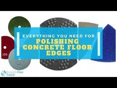 Edging Tips for Polishing Concrete - YouTube