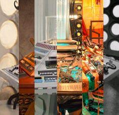 Tardis interior through the years. Excellent Ideas to inspire my spaceship interior.
