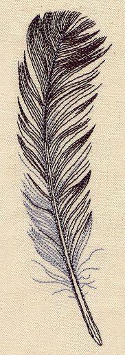 Wispy Feather   Городские Темы: Уникальные и удивительные образцы вышивки