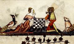 Game of Chess with Peacock and Dog. detail. Flemish 1338-44. bodl_Bodl.264 | Flickr - Photo Sharing!