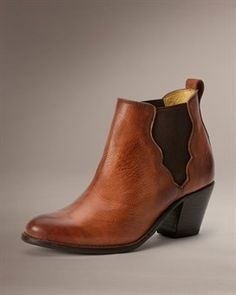 Jackie Gore Stitching Horse. In black or dark brown.. heel might be too tall